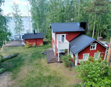 купить дом в финляндии со своим берегом