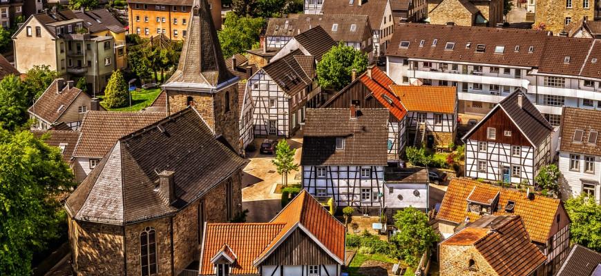 Немецкие деревни вымирают, а города…