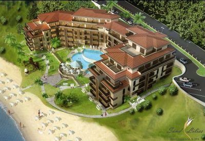 Тип: 5* комплекс Местоположение: между г.Созополь и Дюны Площадь апартаментов: от 53 до 110 м2...