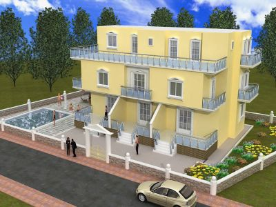 Квартира Free electrical appliances with these villas, Турция - фото 1
