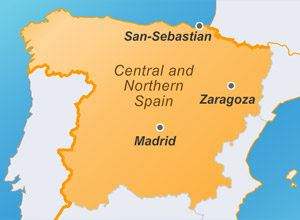Central and Northern Spain