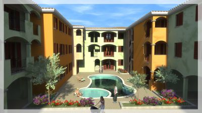Residential apartments in Sardinia