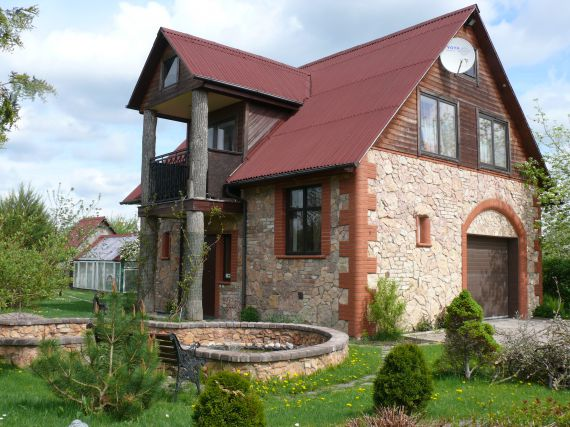 Дом в Елгавском крае, Латвия, 120 м2 - фото 1