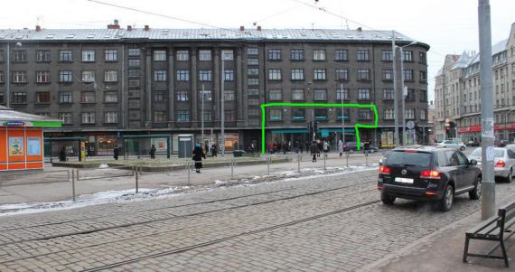 Магазин в Риге, Латвия, 446 м2 - фото 1