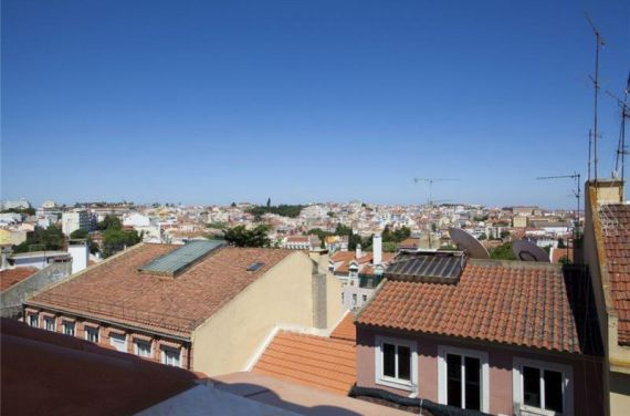 Пентхаус в Лиссабоне, Португалия, 80 м2 - фото 1