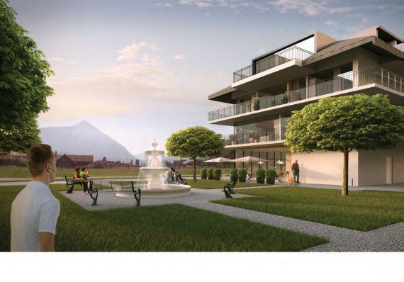 Мезонет в Интерлакене, Швейцария, 69 м2 - фото 1
