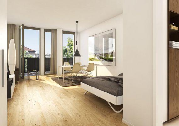 Апартаменты в Мюнхене, Германия, 42.02 м2 - фото 1