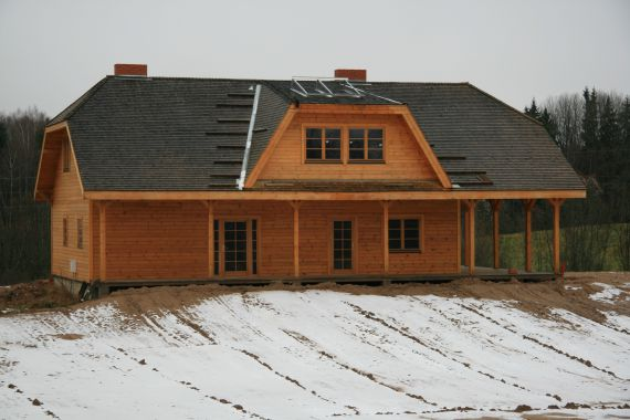 Дом в Мадонском крае, Латвия, 2 Га - фото 1