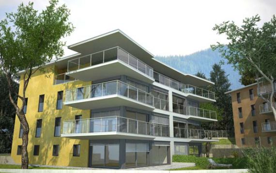 Апартаменты в Тичино, Швейцария, 123 м2 - фото 1