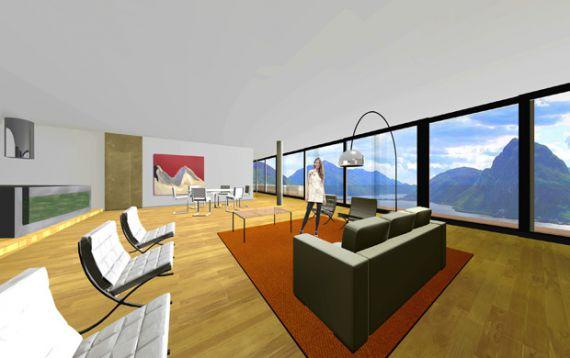 Апартаменты в Тичино, Швейцария, 210 м2 - фото 4