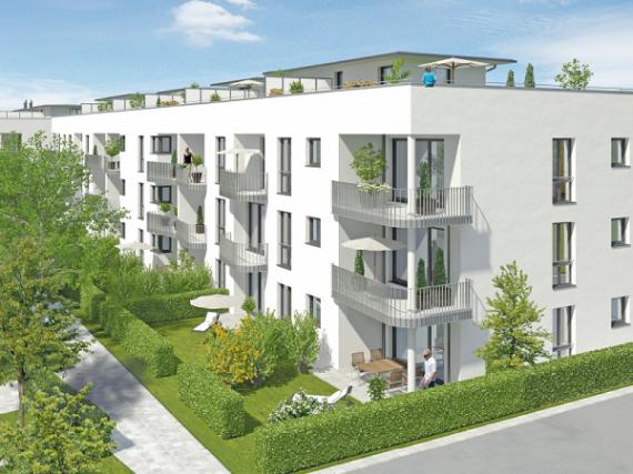Апартаменты в Мюнхене, Германия, 35.73 м2 - фото 1