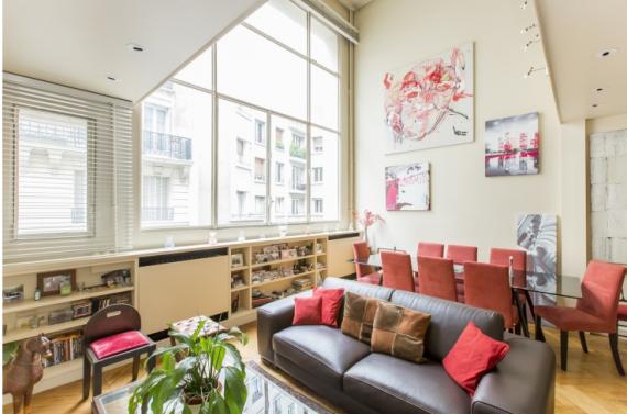 Апартаменты в Париже, Франция, 59 м2 - фото 1