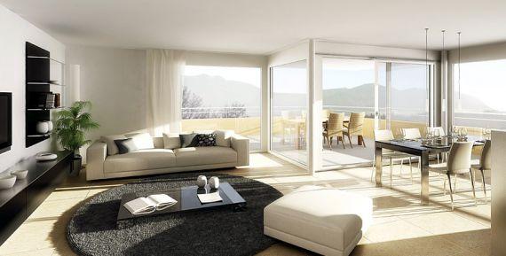 Пентхаус в Лугано, Швейцария, 119 м2 - фото 1
