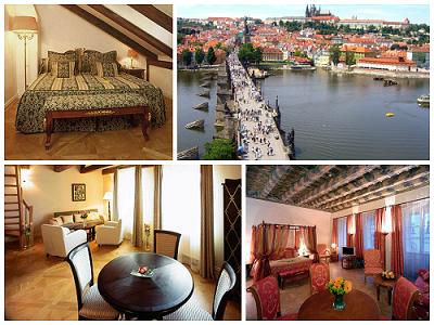 Отель, гостиница в Праге, Чехия, 500 м2 - фото 1