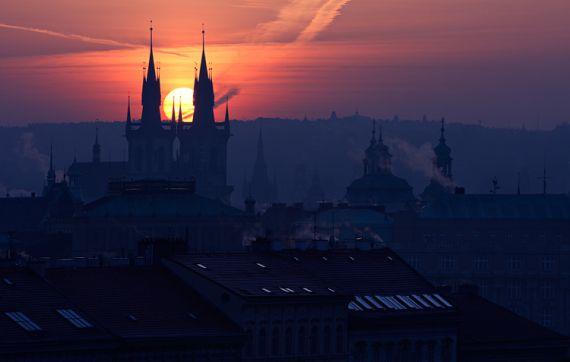 Отель, гостиница в Праге, Чехия, 2052 м2 - фото 1