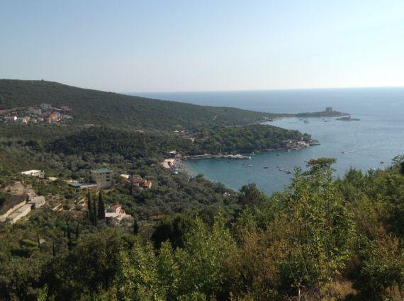 Земля на полуострове Луштица, Черногория, 1000 м2 - фото 1