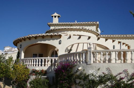 Вилла в Кумбре дель Соль, Испания, 360.44 м2 - фото 1