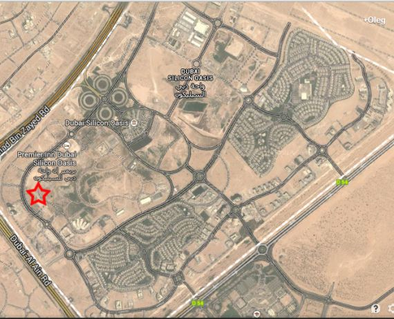 Земля в Дубае, ОАЭ, 2604 м2 - фото 1