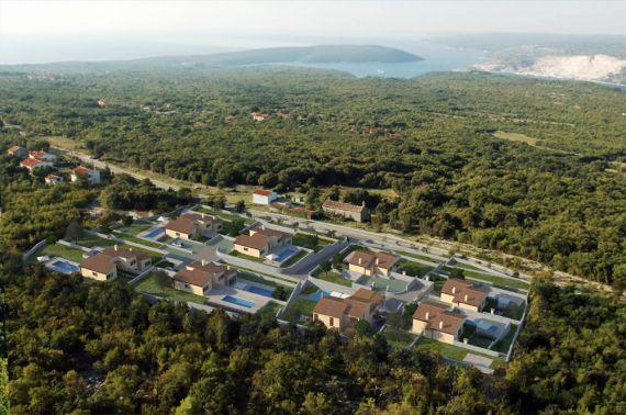 Инвестиционный проект в Лабине, Хорватия, 1000 м2 - фото 1