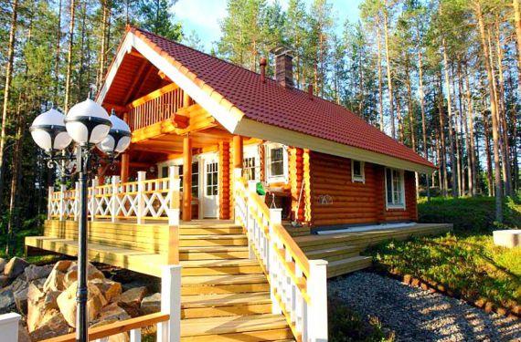 Коттедж в Пункахарью, Финляндия, 0.66 Га - фото 1