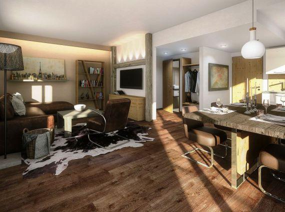 Апартаменты в Зальцбурге, Австрия, 55 м2 - фото 1