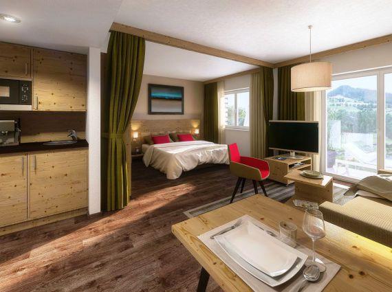Апартаменты в Зальцбурге, Австрия, 36.5 м2 - фото 1