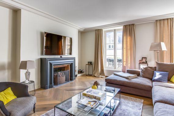Апартаменты в Париже, Франция, 120 м2 - фото 1