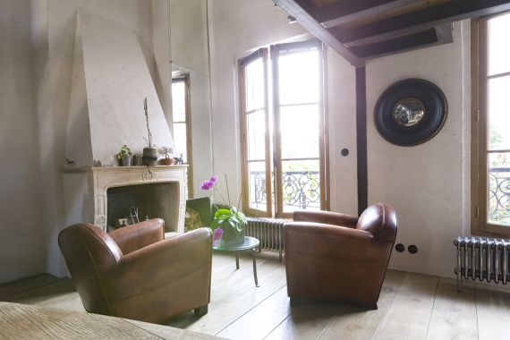 Апартаменты в Париже, Франция, 39 м2 - фото 1