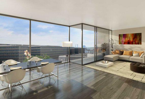 Квартира в Берлине, Германия, 107.8 м2 - фото 1