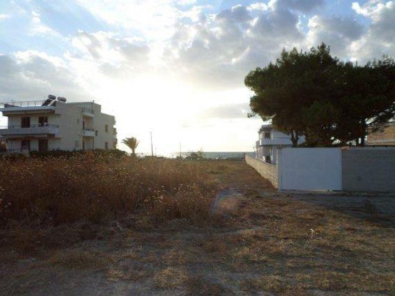 Земля в Лутраки, Греция, 450 м2 - фото 1