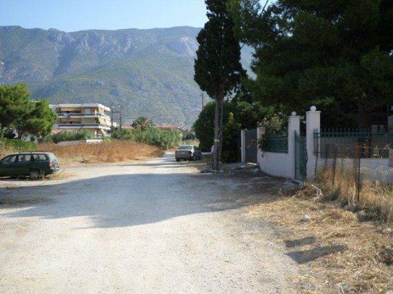 Земля в Лутраки, Греция, 1000 м2 - фото 1