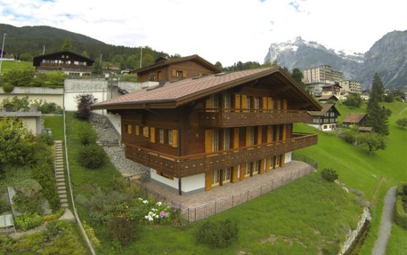 Шале в Берне, Швейцария, 1270 м2 - фото 1