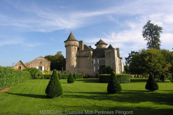 Замок в Верхних Пиренеях, Франция, 1.65 Га - фото 1