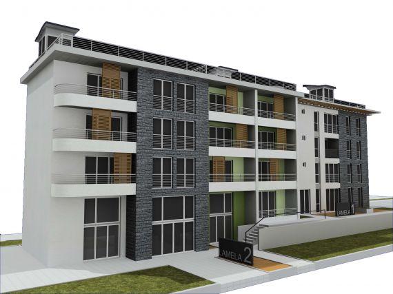 Апартаменты в Зеленике, Черногория, 84.3 м2 - фото 1
