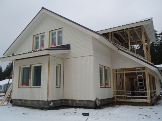 Дом в Иматре, Финляндия, 250 м2 - фото 1