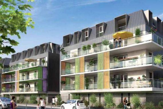 Апартаменты в Экс-ле-Бен, Франция, 57 м2 - фото 1