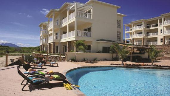 Апартаменты на Сент-Китсе и Невисе, Карибские острова, 145.86 м2 - фото 1