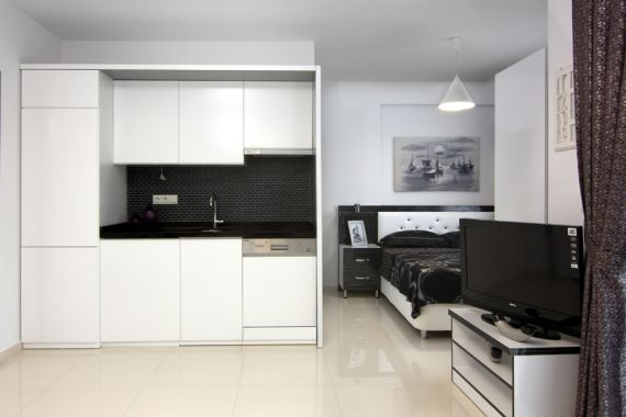 Квартира в Аланье, Турция, 35 м2 - фото 1