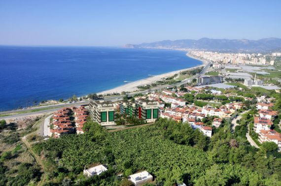 Квартира в Аланье, Турция, 45 м2 - фото 1
