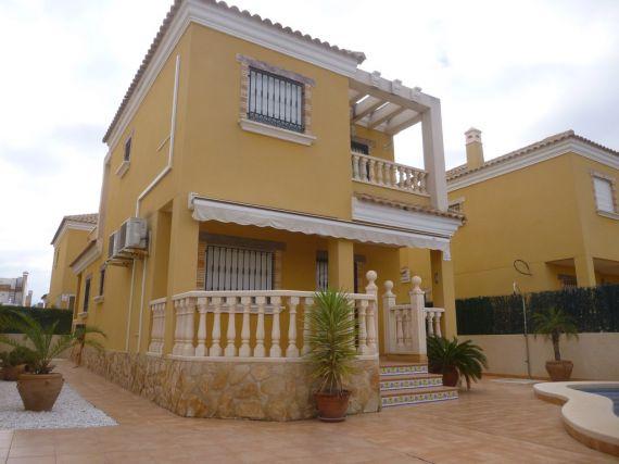Дом в Гуардамар-дель-Сегура, Испания, 120 м2 - фото 1