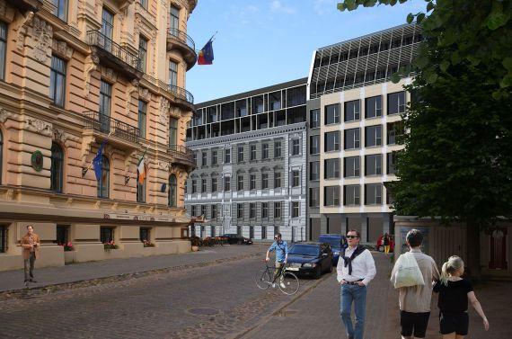 Инвестиционный проект в Риге, Латвия, 6909 м2 - фото 1