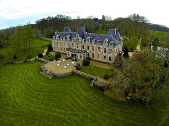 Замок в Шаранте, Франция, 62.76 Га - фото 1