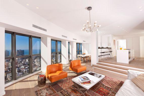 Апартаменты в Тель-Авиве, Израиль, 175 м2 - фото 1