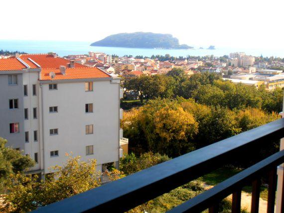 Квартира в Будве, Черногория, 45 м2 - фото 1