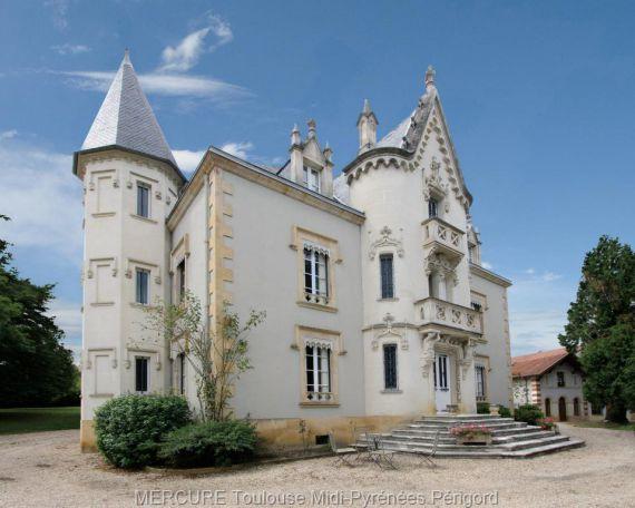 Замок в Верхней Гарони, Франция, 600 м2 - фото 1