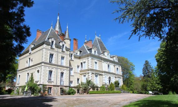 Замок в Лимузене, Франция, 8 Га - фото 1