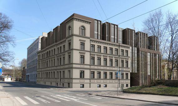 Инвестиционный проект в Риге, Латвия, 2900 м2 - фото 1