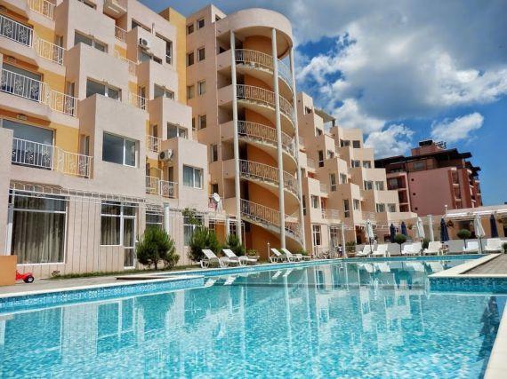 Апартаменты на Солнечном берегу, Болгария, 48 м2 - фото 1