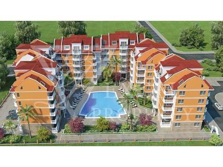 Квартира на Солнечном берегу, Болгария, 41 м2 - фото 1