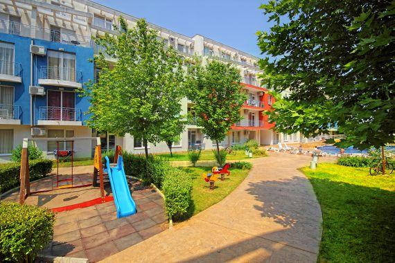 Квартира на Солнечном берегу, Болгария, 69.21 м2 - фото 1